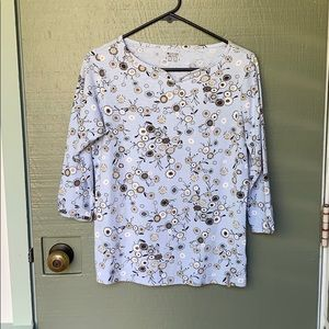 COLUMBIA- size small floral shirt